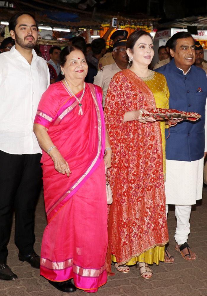 Mukesh Ambani, Nita Ambani, Picture Courtesy- Yogen Shah