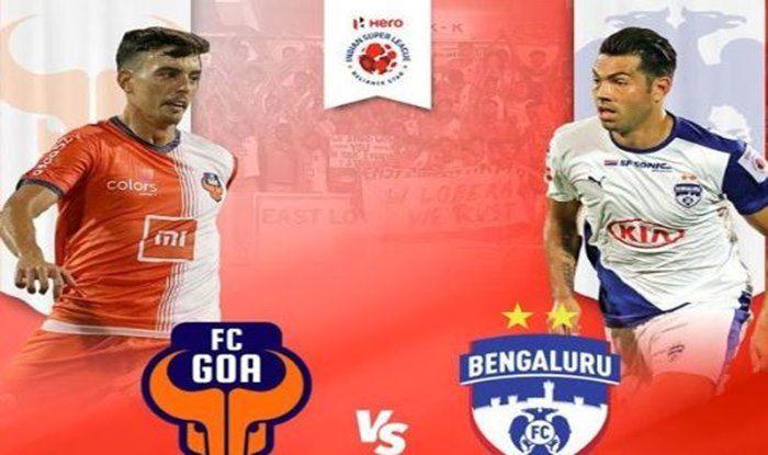 It's FC Goa vs Bengaluru FC For Top Spot in Indian Super League 2018
