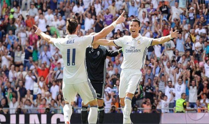 Gareth Bale Cristiano Ronaldo_Picture credits Twitter