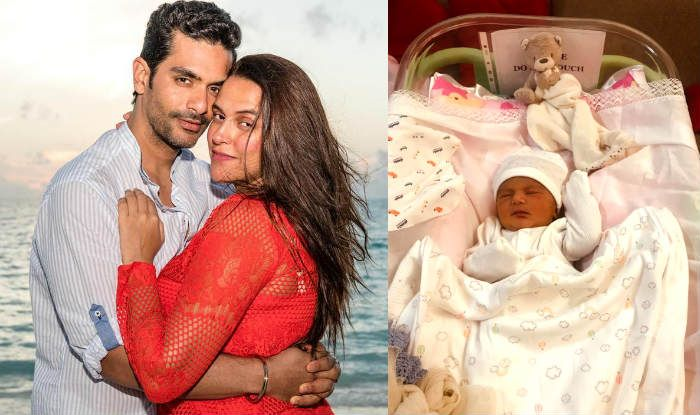 Neha Dhupia-Angad Bedi's Baby First Photo Out: Grandfather Bishan Singh Bedi Posts Adorable Picture of Mehr Dhupia Bedi