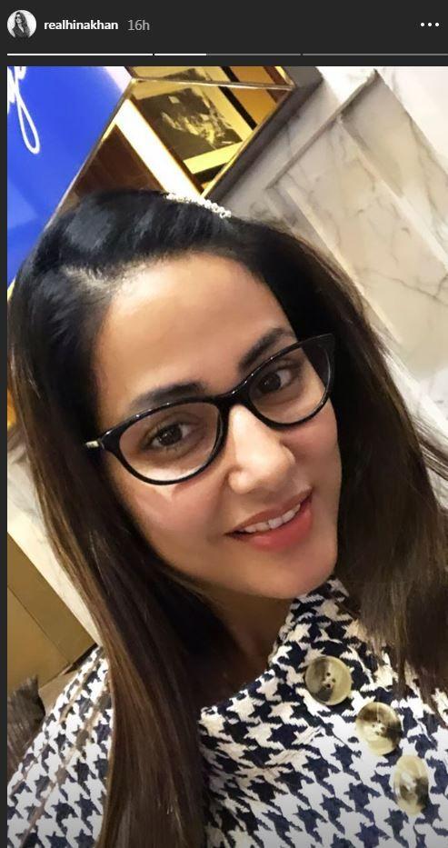 hina khan specs