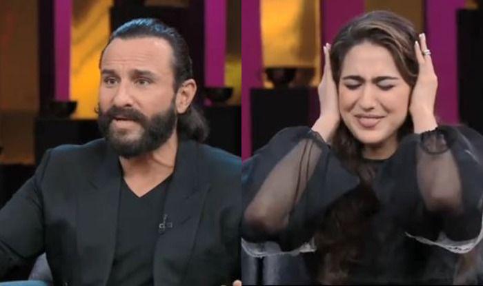 Koffee With Karan 6: Sara Ali Khan Says She Wants to Date Kartik Aaryan, Here's How Saif Ali Khan Reacted, Watch