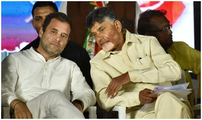 Andhra CM Naidu, Rahul Gandhi to Hold Talks of Oppn Meet on May 21 to Discuss Post Poll Strategy