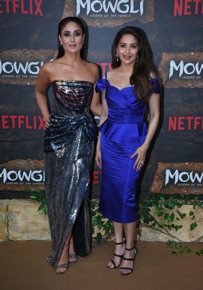 Kareena Kapoor Khan, Madhuri Dixit, Picture Courtesy- Yogen Shah