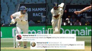 Australia vs India 1st Test Adelaide: Cheteshwar Pujara Hits Fighting Ton, Twitter Goes Gaga