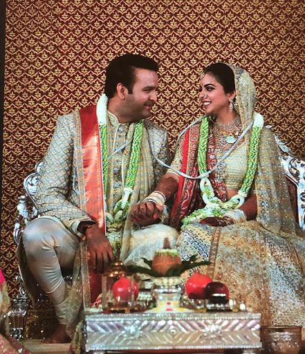 Isha Ambani and Anand Piramal wedding