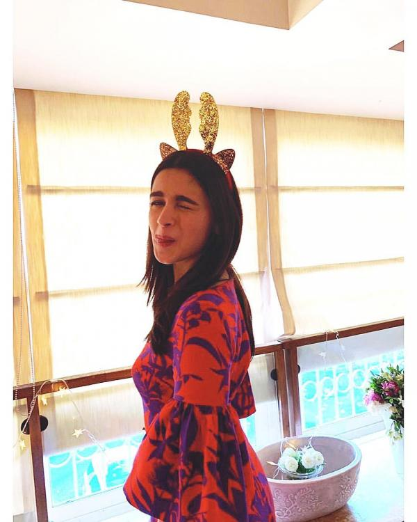 Alia Bhatt celebrates Christmas