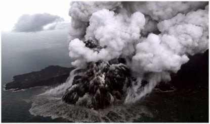 अनाक क्राकाटोआ ज्वालामुखी