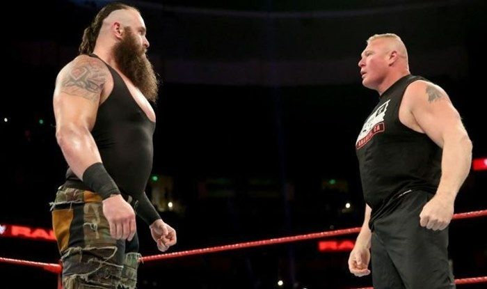 Strowman vs Lesnar_Picture credits-Twitter