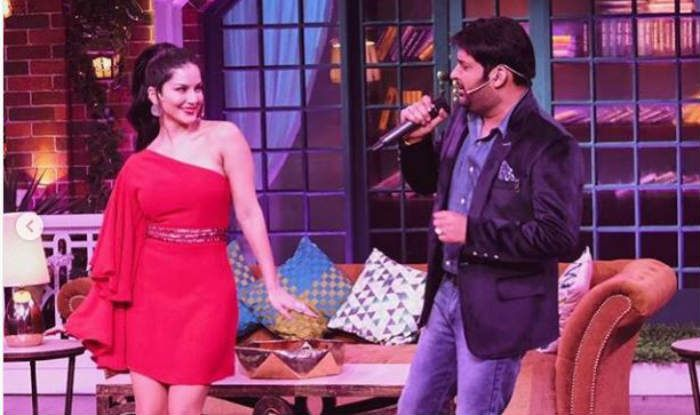 Sunny Leone Dances on The Kapil Sharma Show But Her Sexy Red
