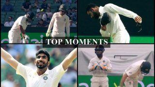 India vs Australia 3rd Test: Virat Kohli's W*****r Doff Response, Tim Paine-Rishabh Pant Sledge to Rohit Sharma's MI Offer, Jasprit Bumrah-Pat Cummins Show, Five Top Moments From MCG Win| WATCH