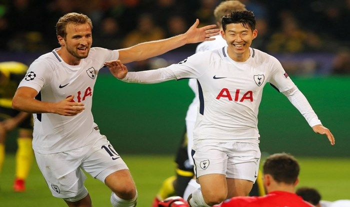 Tottenham Hotspurs Kane and Son Heung-Min_Picture credits-Twitter