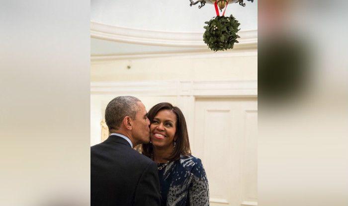 Barack Obama with Michelle Obama (Photo Courtesy: Twitter/ @BarackObama)