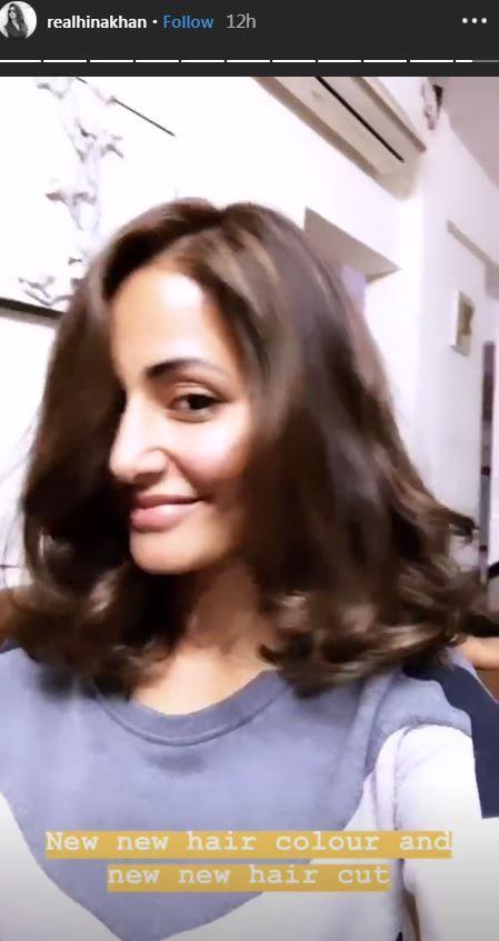 hina khan hair