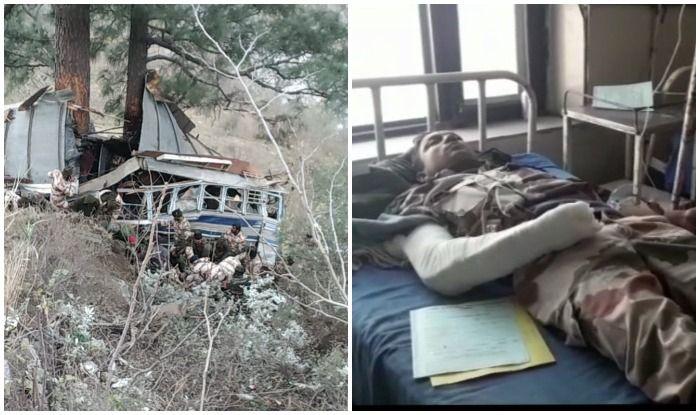 ITBP के सैनिकों को ले जा रही बस खड्ड में गिरी, एक की मौत, 24 घायल
