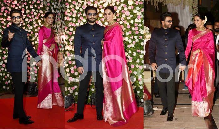 Ranveer Singh and Deepika Padukone at Kapil Sharma's Wedding Reception (Photo Courtesy: Yogen Shan/ India.com)