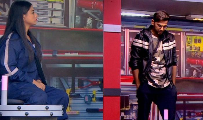 Somi Khan and Romil Chaudhary in Bigg Boss 12 (Photo Courtesy: Colors TV)