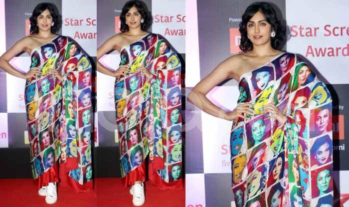 Adah Sharma at the red carpet of Star Screen Awards 2018. Photo Courtesy: Yogen Shah/ India.com