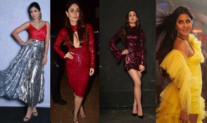 Shilpa Shetty, Kareena Kapoor Khan, Sara Ali Khan, Katrina Kaif (Photo Courtesy: Instagram-@theshilpashetty, @saraalikhan95, @katrinakaif, Getty Images)
