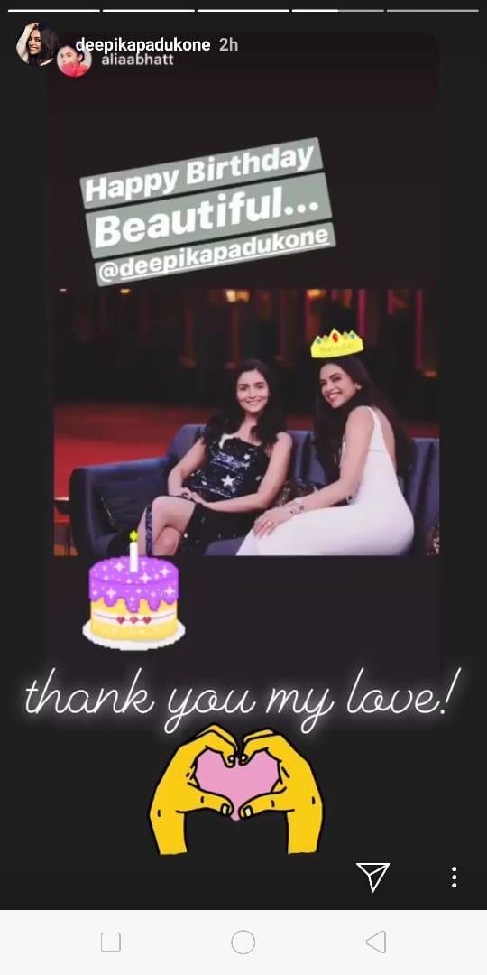 Deepika Padukone and Alia Bhatt