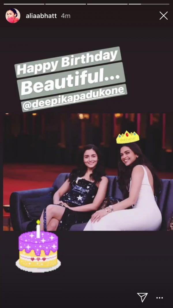 Alia Bhatt and Deepika Padukone