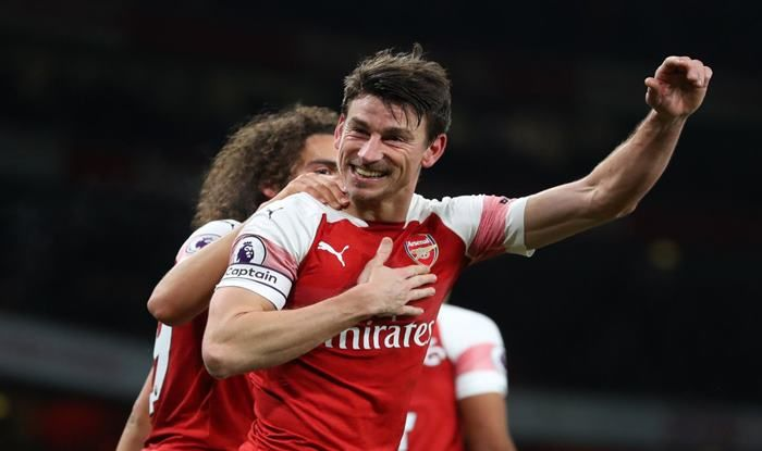 Laurent Koscielny Scores Winner Against Chelsea_Picture Credits- Arsenal Media