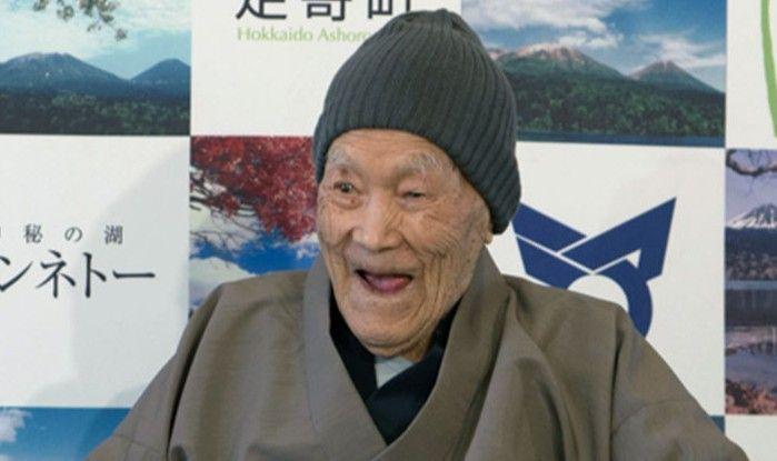 World's oldest man dies in Japan