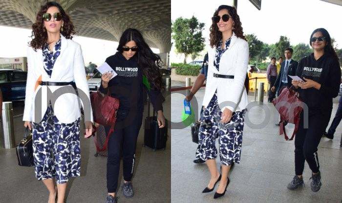 Sonam Kapoor and Rhea Kapoor.