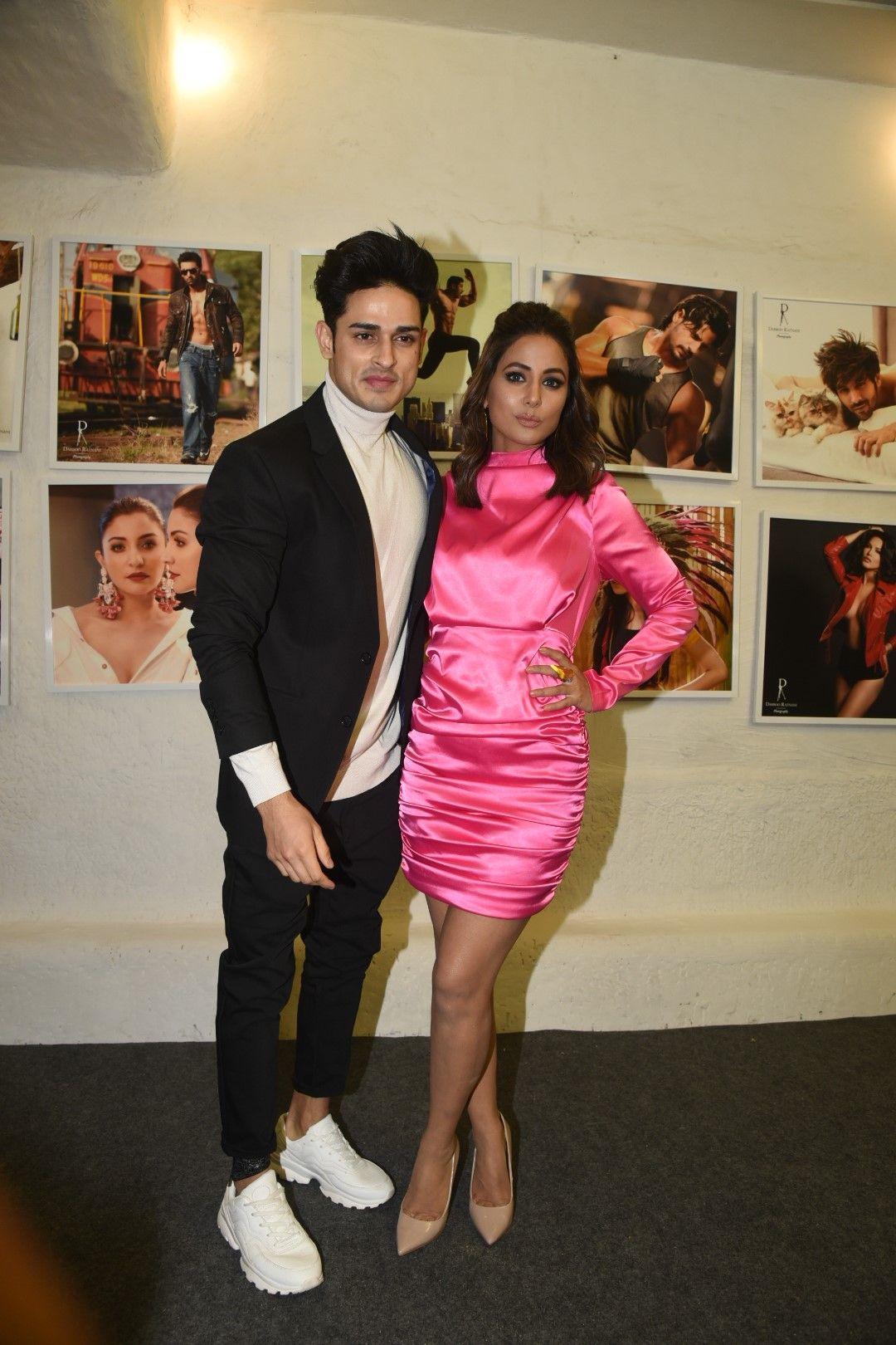 Hina Khan, Priyank Sharma