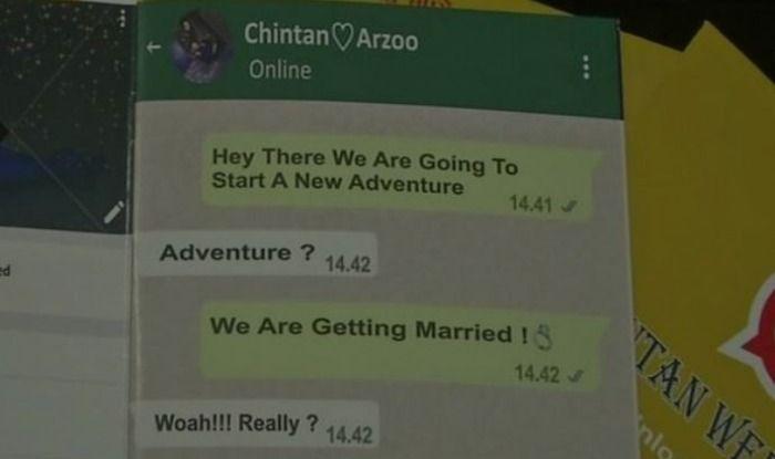 WhatsApp Wedding Card