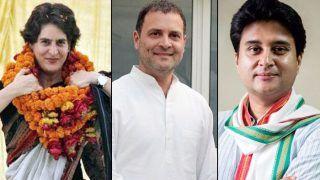 Congress Lays Hopes on Priyanka Gandhi, Jyotiraditya Scindia For Revival in Uttar Pradesh; Rahul Gandhi Says 'Won't Play on Backfoot'