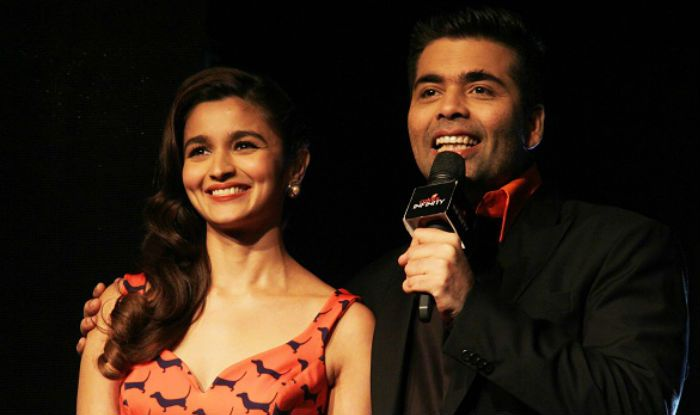 Alia Bhatt and Karan Johar (Photo Courtesy: Getty Images)