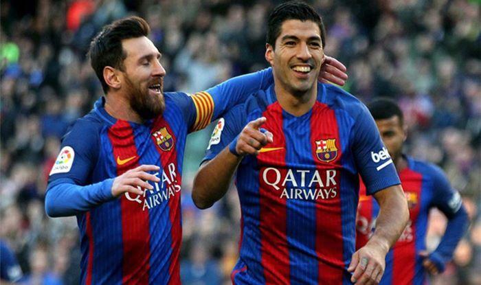 Luis Suarez Responds To Barcelona Captain Lionel Messis Farewell Message