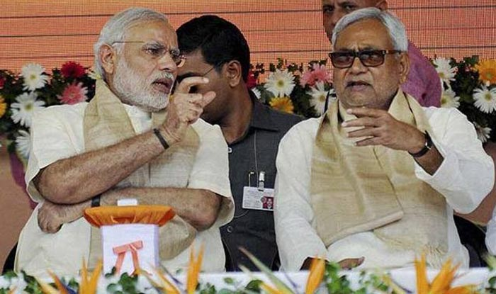 Lok Sabha Elections 2019: NDA Seals Seat-Sharing Pact in Bihar; BJP-JD(U) to Contest on 17 Seats Each, LJP Gets 6
