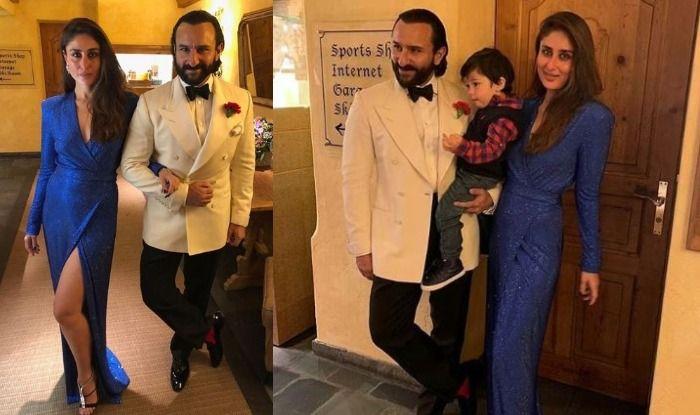 Kareena Kapoor Khan, Saif Ali Khan and Taimur Ali Khan