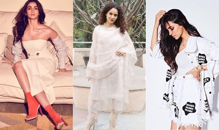 Deepika Padukone, Alia Bhatt, Kangana Ranaut