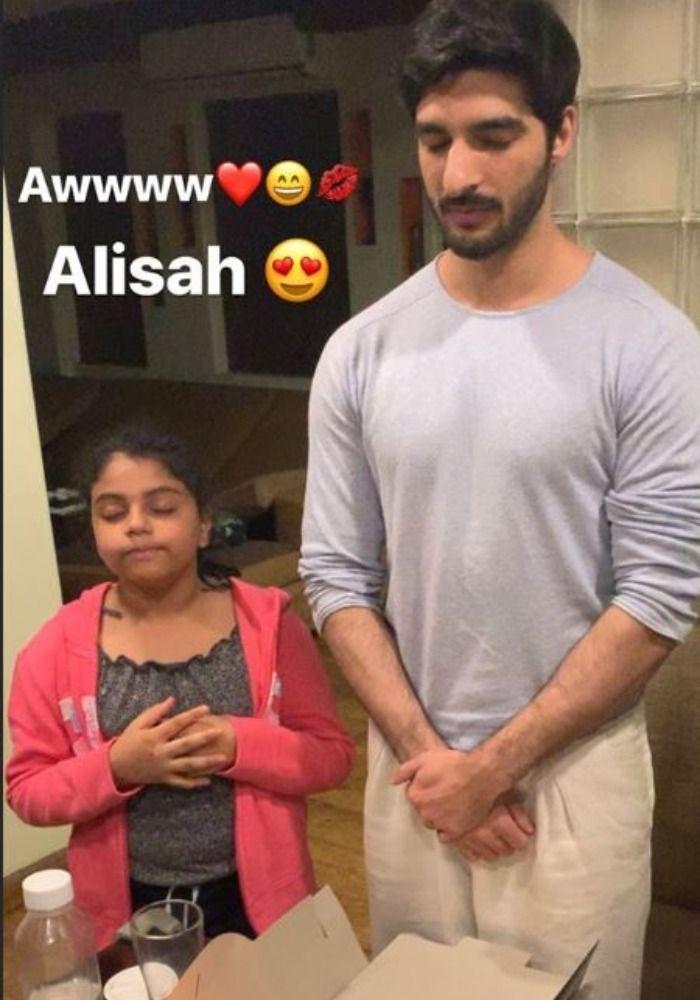 Alisah, Rohman Shawl, Picture Courtesy- Instagram/ sushmitasen47 Verified