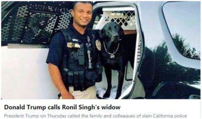 अमेरिकी मीडिया ने रोनिल की हत्या पर विस्तृत कवरेज की, वाशिंगटन पोस्ट की एक पोस्ट