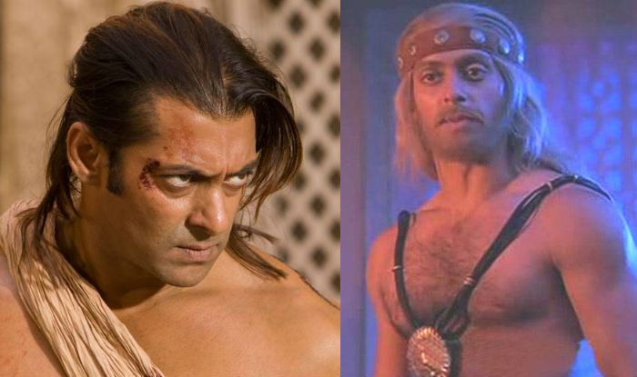 Salman Khan in a still from Veer (L)/ Suryavanshi (R)