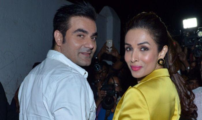 Malaika Arora with Arbaaz Khan