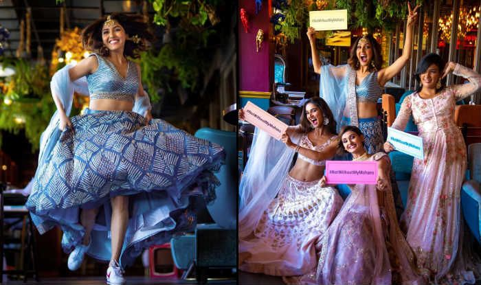 Neeti Mohan-Nihaar Pandya Wedding: Bride Gets Pre-Wedding Photoshoot Done With Her Girl Gang-See Pretty Pictures