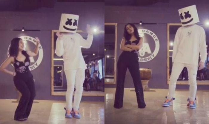 Neha Kakkar Showcases Her Hot Thumkas As She Grooves To Her Song Coca Cola Tu With Dj Marshmello India Com