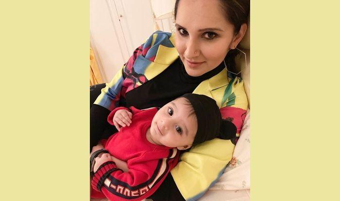 Sania Mirza with son Izhaan