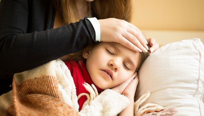 Respiratory tract infections in kids