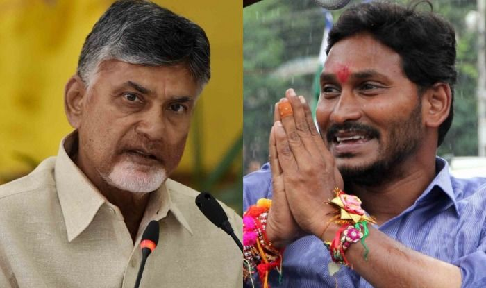 Chandrababu Naidu and YS Jaganmohan Reddy