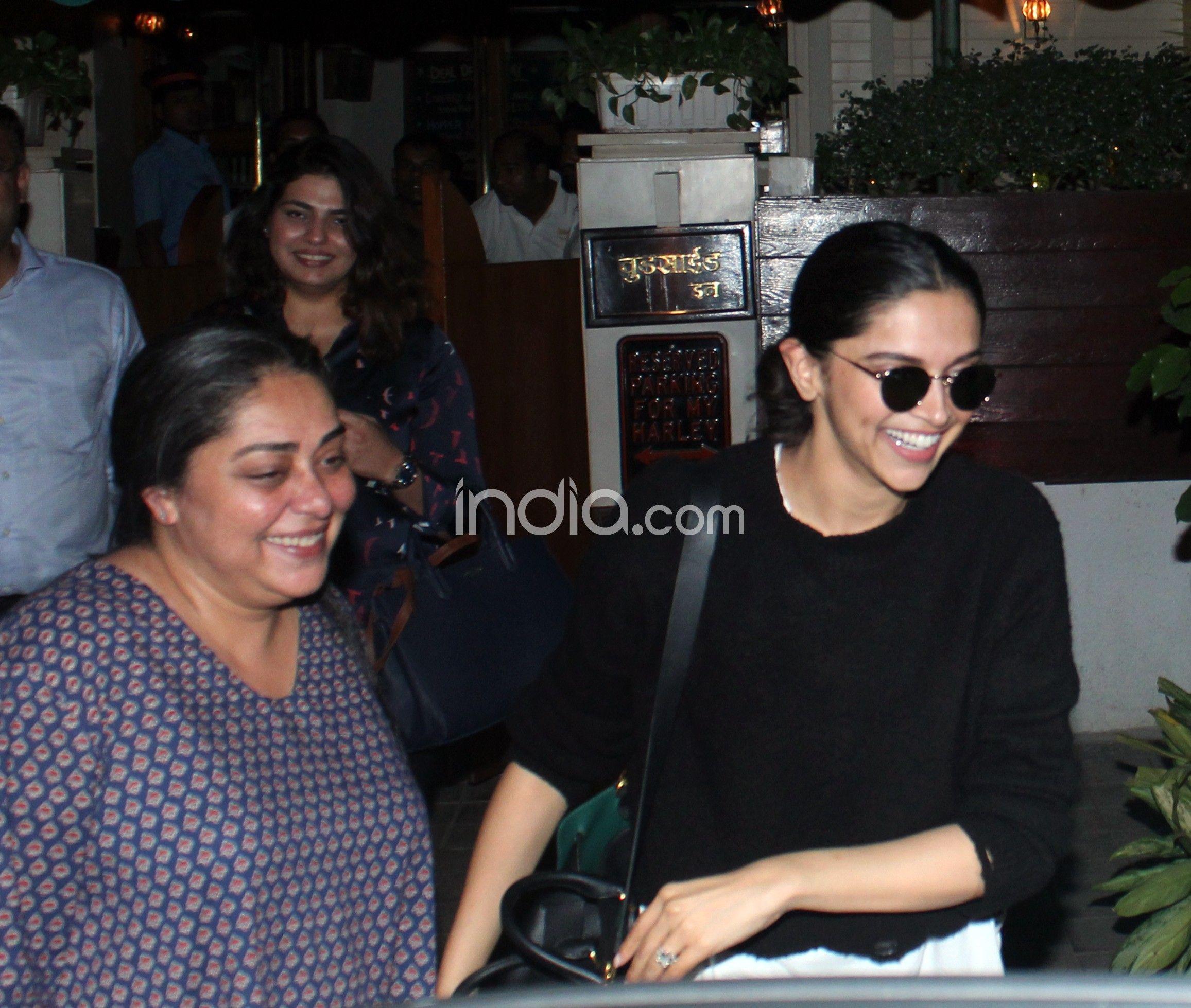 Deepika Padukone and Meghna Gulzar