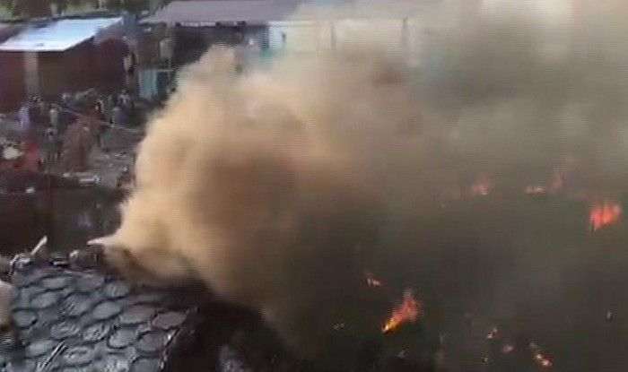 Uttar Pradesh: Massive Fire Breaks Out in Meerut's Bhusa Mandi, no Casualties Reported