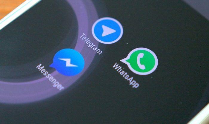 Facebook, Telegram