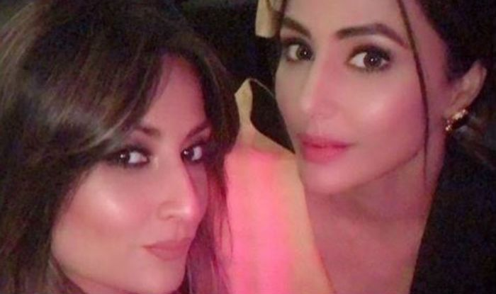 Hina Khan and Urvashi Dhalokia