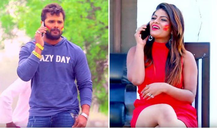 Bhojpuri Superstar Khesari Lal Yadav And Hottie Priyanka Singh's New Holi  'kukura Chahet Dela' Becomes Top Trending  On Youtube - Watch